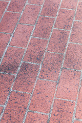 Close - up street floor tiles as background.. .