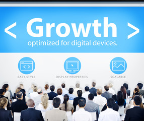 Business People Growth Seminar Concept