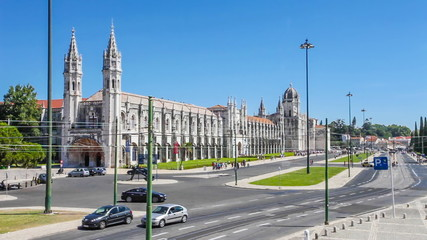 Jeronimos Monastery, Maritime and Archeology Museums in Lisbon