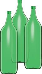 bottiglioni di vetro