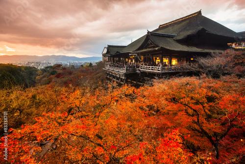 Foto op Canvas Bedehuis Kiyomizu-dera Temple in Kyoto, Japan
