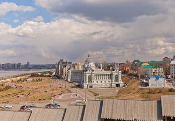 Palace of farmers (2010) in Kazan, Russia