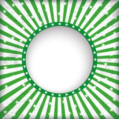 Grüner Partyflyer Hintergrund