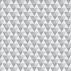 Triangle Pattern with grey color