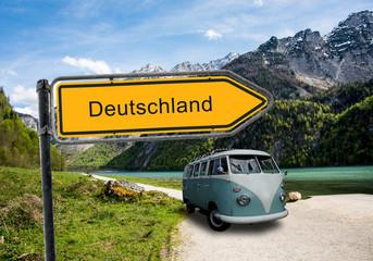 Strassenschild 45 - Deutschland