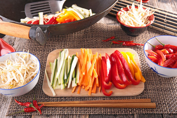 asian food,wok