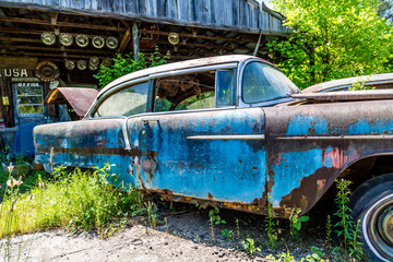 Old Blue Rusted
