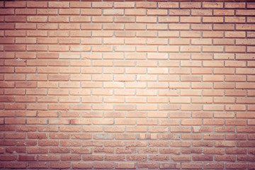 brick wall texture with filter effect retro vintage style