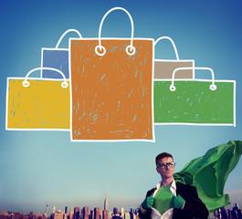 Shopping Bag Sale Capitalism Shopaholic Concept