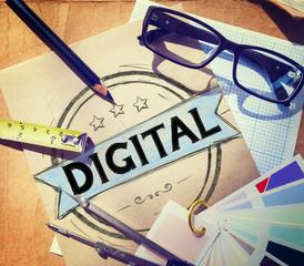 Digital Technology Online Internet Concept