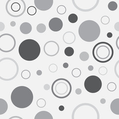 Seamless Background with Polka Dot pattern