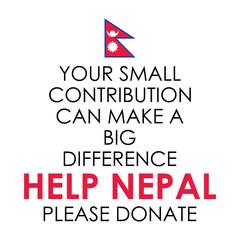 Nepal earthquake 2015 help