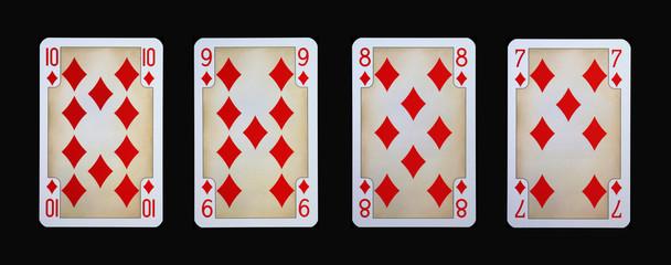 Spielkarten - Gothia - Karo aus der Ritterzeit