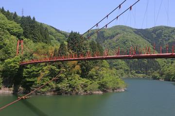 わがたに吊り橋