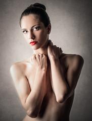 Sensual woman's portrait