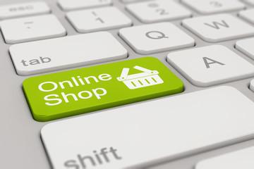 keyboard - online shop - green