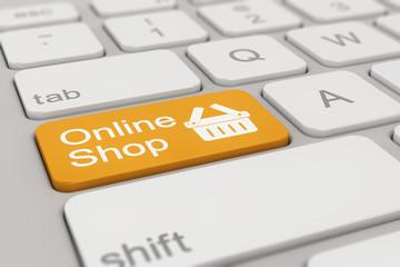 keyboard - online shop - orange