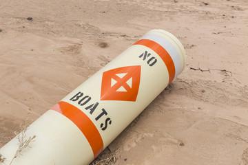 No Boats Buoy Drought Damage