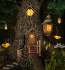 Summer tree house