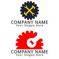 Gear Mechanic Concept Logo