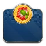 bilancia spaghetti al pomodoro