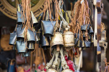 Metal bells from Zakopane