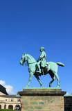 Equestrian statue of king Christian IX. Copenhagen, Denmark