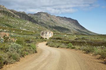 Beautiful landscape in Cederberg nature reserv