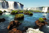 Fotoroleta Iguazu falls