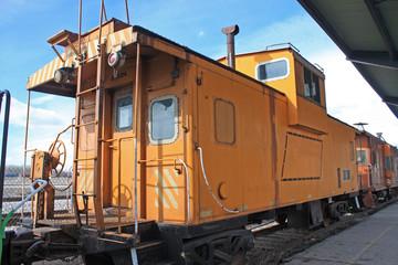 vintage railway truck