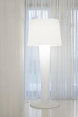 White big lamp