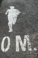 Running way Symbol