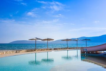 クロアチア アドリア海 ビーチリゾート