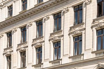 Vintage Architecture In Bucharest, Romania