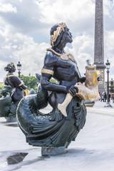 Fontaines de la Concorde (1840) on Place Concorde in Paris