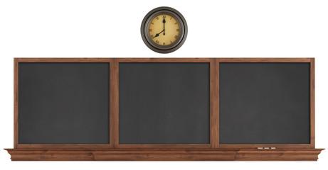 Retro blackboard