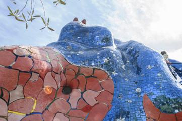 Sculture del Giardino dei Tarocchi di Capalbio