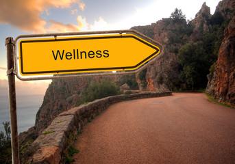 Strassenschild 36 - Wellness