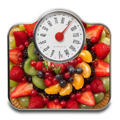 bilancia torta alla frutta