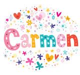 Carmen name logo
