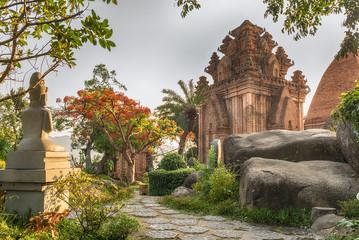 Вьетнам, Нячанг, the temple complex Po Nagar Cham