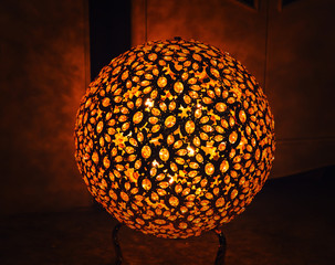 Abstract decorative lamp