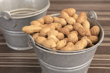 Salted roasted shelled peanuts