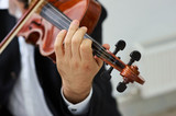 Men Violinist Playing Classical Violin