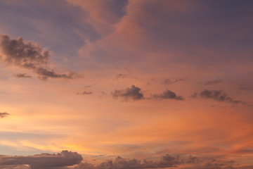 Sky and Clouds at Sunset