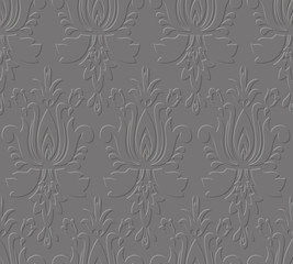 Old seamless pattern. Vector Royal background