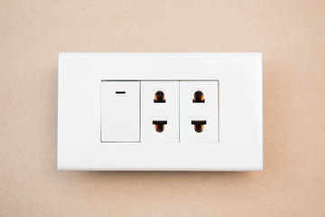 white switches and outlet
