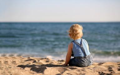 Bébé à la mer