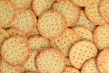 wheat cracker background