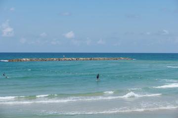 Wellenreiten Tel Aviv
